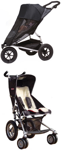 Shade-a-Babe 'Zip n Go' (inc. storage pouch) Black PLUS Travel Comfy Buggy Liner